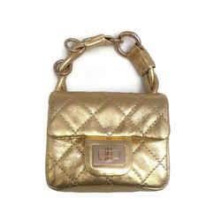 Chanel  Gold Reissue Mini Anklet Wristlet Flap 2.55