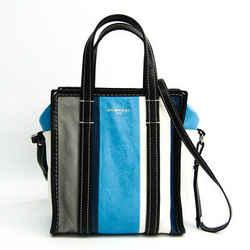 Balenciaga Bazaar Shopper XS 452458 Women's Leather Shoulder Bag,Tote B BF515672