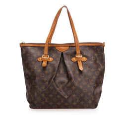 Brown Louis Vuitton Monogram Canvas Palermo GM Bag