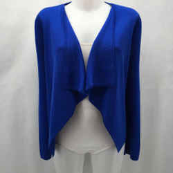 St John Blue Cardigan Sweater Small