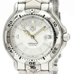 Polished TAG HEUER 6000 Pro 200M Steel Quartz Mid Size Watch WH1113 BF534028