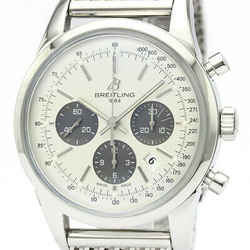 Mint Condition BREITLING Transocean Chronograph Automatic Watch AB0152 BF520074