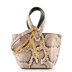 Virtus Bucket Bag Python Mini