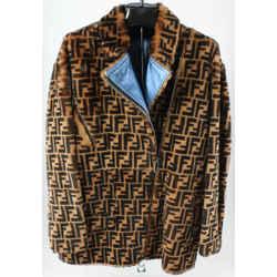 Fendi Monogram Fur Jacket