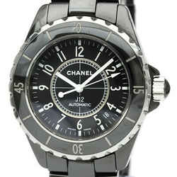Polished CHANEL J12 Ceramic Automatic Mens Watch H0685 BF534608