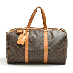 Vintage Louis Vuitton Sac Souple 45 Monogram Canvas Duffle Travel Bag LT989