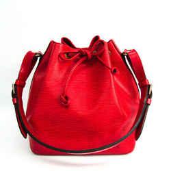 Louis Vuitton Epi M44107 Petit Noe Women's Shoulder Bag Castilian Red BF517289