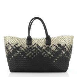 Cabat Tote Intrecciato Nappa and PVC Medium