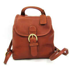 Coach 4152 Women's Leather Backpack Brown Bf509395