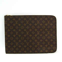 Louis Vuitton Monogram Poche Document M53456 Women's Briefcase Monogram BF339931