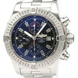 Polished BREITLING Super Avenger Chronograph Automatic Watch A13370 BF522725