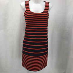 Akris Punto Red Stripe Dress 4