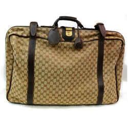 Gucci 872013 Monogram GG Suitcase Luggage Soft Trunk