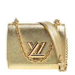 Louis Vuitton Metallic Gold Epi Leather Twist PM Bag