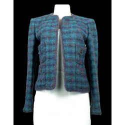 CHANEL Vintage 97A Boucle Blazer