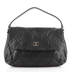 CC Flap Hobo Quilted Lambskin XL