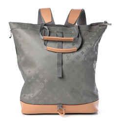 Louis Vuitton Rare Limited Monogram Titanium Backpack Tote bag 861886