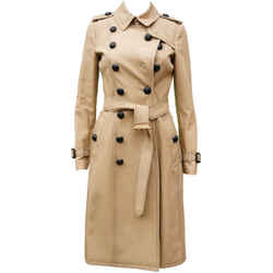 Burberry Trench Long Belted Coat New With Tags