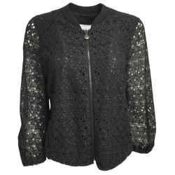 Akris Punto Black Lace Jacket