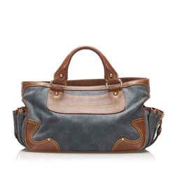 Brown Celine Boogie Suede Handbag Bag