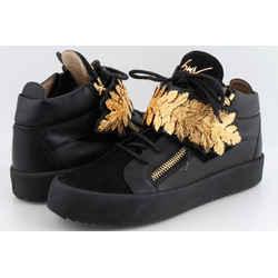 Giuseppe Zanotti Goldleaf High-Top Sneakers