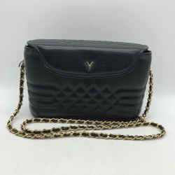 Valentino Black Quilted Bag