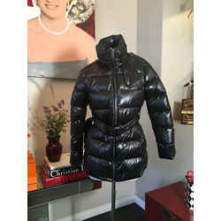Burberry Brit Size Petite M Black Puffer Down Filled Coat 2619-5-6920