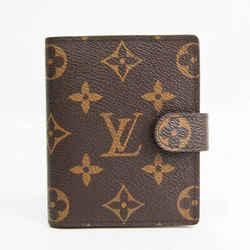 Louis Vuitton Monogram Pocket Size Planner Cover Monogram Agenda Mini R BF527721