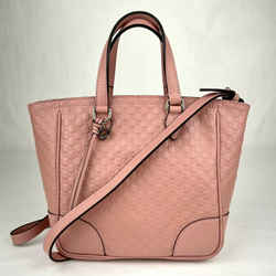 Gucci Light Pink Microguccissima Leather Zip Top Small Shoulder Bag 449241 5806