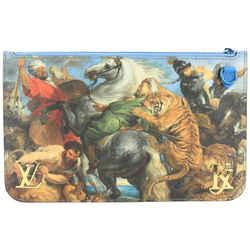 Louis Vuitton Jeff Koons Rubens Neverfull Pochette Clutch Bag 533lvs611