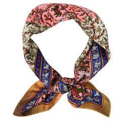"""Hermes Silk Scarf """"Chasse En Inde"""" 90 cm"""