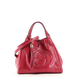 Soho Convertible Shoulder Bag Patent Small