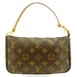 Authentic Louis Vuitton Monogram Canvas Pochette Accessories Pouch M51980 France