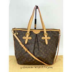 Louis Vuitton Monogram Palermo GM Shoulder Tote Bag Authentic  M40146 A561