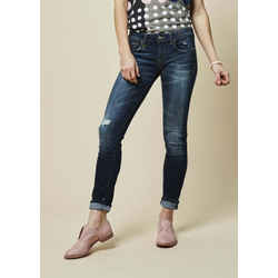$345 R13 Distressed Kate Skinny Seattle Vintage Rip Blue Jeans Sz 29