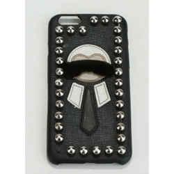 Fendi Mink Fur & Leather Karlito iPhone 6/ 6s Case
