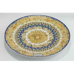 Versace Medusa Rhapsody Blue Service Plate