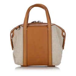 Brown Alexander Wang Emile Leather Satchel Bag