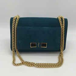 Salvatore Ferragamo Blue Ginevra Bag in Cypress