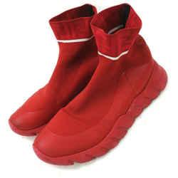 Fendi Red Reloaded FF Sock Sneaker (Men's US 9D)  861256