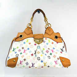 Louis Vuitton Monogram Multicolore Ursula M40123 Women's Handbag Blanc BF508898
