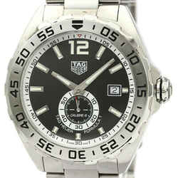 Polished TAG HEUER Formula 1 Calibre 6 Steel Automatic Watch WAZ2012 BF534919
