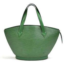 Vintage Louis Vuitton Saint Jacques PM Green Epi Leather Handbag LU164