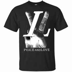 Louis Vuitton For Men Peace and Love Tee Shirt