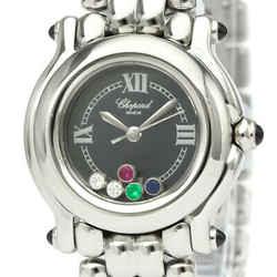Polished CHOPARD Happy Sport Diamond Quartz Ladies Watch 27/8250-23 BF534913