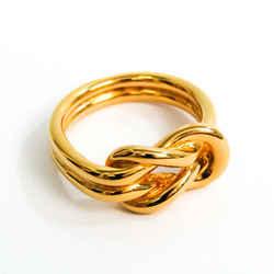 Hermes Metal Scarf Ring Gold Atame BF536106