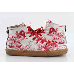 Gucci Sea Storm Print High-Top Sneaker