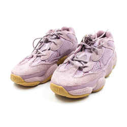 Yeezy 500 Unisex Size 10 Lavender Suede Sneakers
