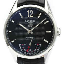 Polished TAG HEUER Carrera Vintage Calibre 01 Steel Mens Watch WV3010 BF516839