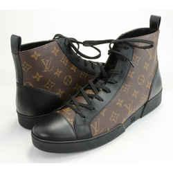 Louis Vuitton Monogram Canvas Match Up High Top Sneakers